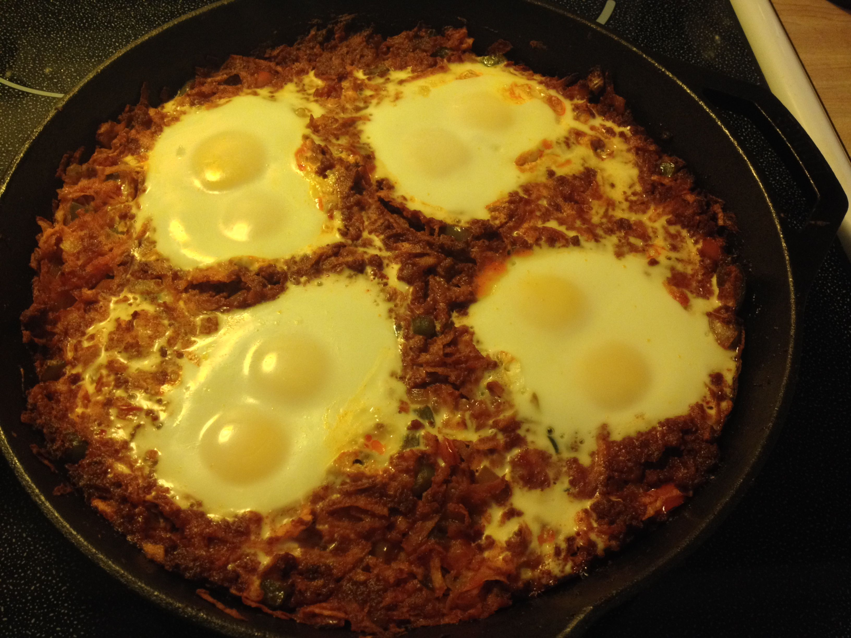 Breakfast: Chorizo and Eggs, Yoda Style | PaleoYoda